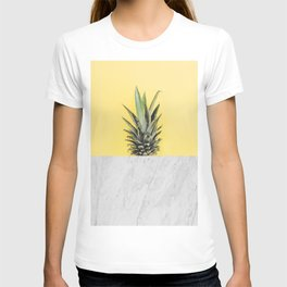 Pineapple and marble T-shirt