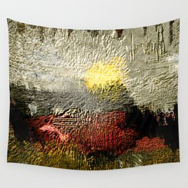 Abstract III - Rising Sun Wall Tapestry