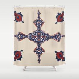 Iranian pattern Shower Curtain