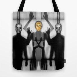 Body Language 64 Tote Bag