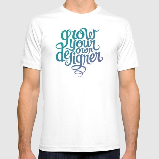 Grow Your Own Designer T-shirt