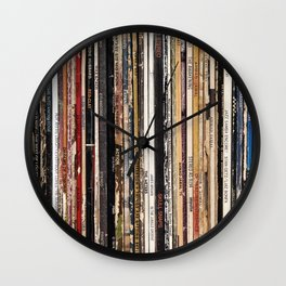 Jazz, Funk & Soul Vinyl Records Wall Clock