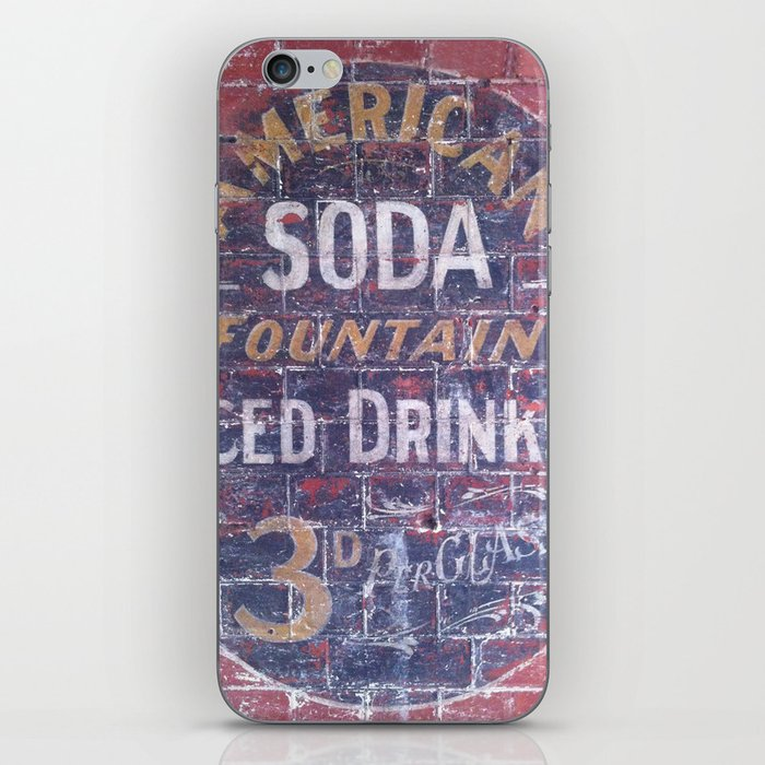 American Soda iPhone Skin
