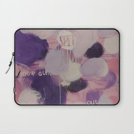 spit your gum out! Laptop Sleeve