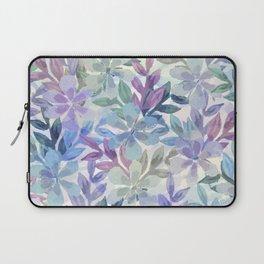 watercolor Botanical garden Laptop Sleeve