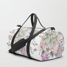 succulent watercolor 8 Duffle Bag