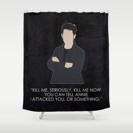 Being Human - Hal Yorke Shower Curtain