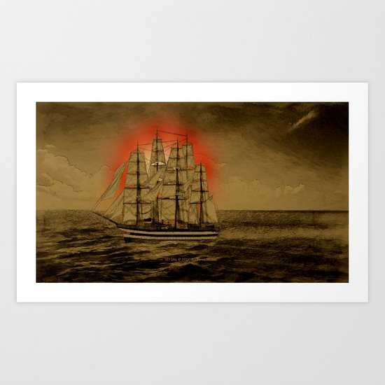 Set Sail - 001 Art Print