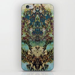 Tree cathedral iPhone Skin