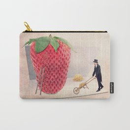 The strawberry seed-sticker Carry-All Pouch