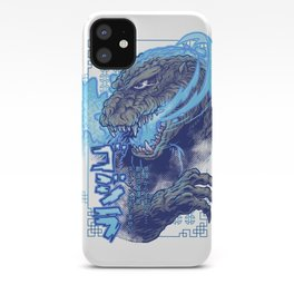 Atomic Fire Born! iPhone Case