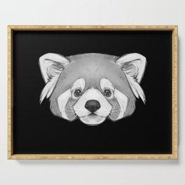 Endangered Animals - Red Panda Serving Tray