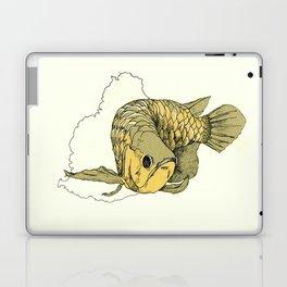 Gold Arowana Laptop & iPad Skin