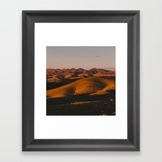 Last Light Framed Art Print