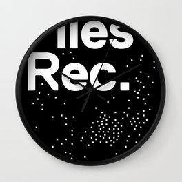 Files Rec Logo Wall Clock