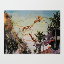 L.A. is one helluva town Canvas Print