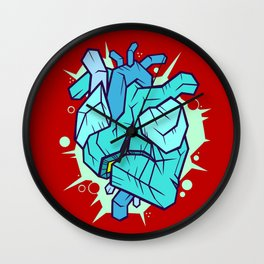 Cold-Hearted And Venomous Wall Clock