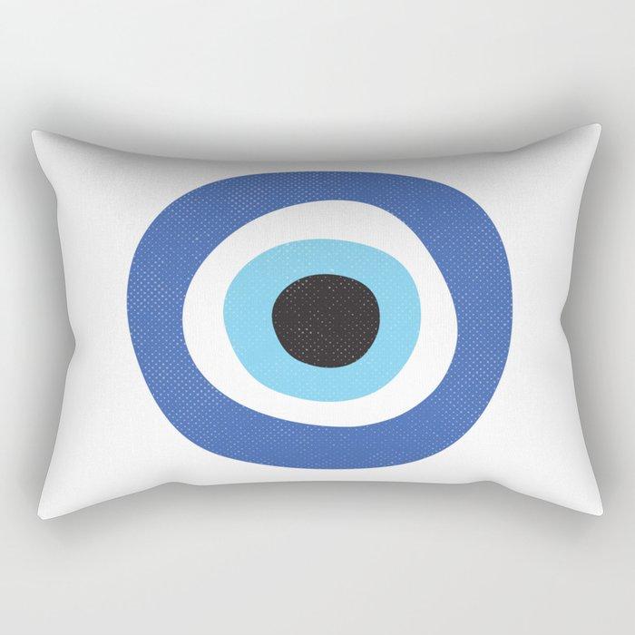 Evil Eye Symbol Rechteckiges Kissen