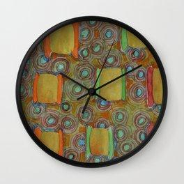 Several reels of thread Wall Clock