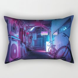 Tokyo Nights / Blue Monday / Liam Wong Rectangular Pillow