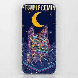FOSTER THE PEOPLE COMING OF AGE TOUR DATES 2019 EHSAN iPhone Skin