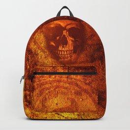 Fire Skull Backpack