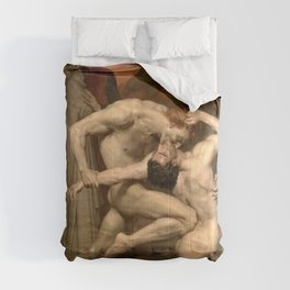 Dante and Virgil in Hell Comforters