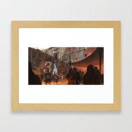 Gate 3 Framed Art Print