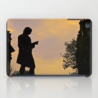 college iPad Cases featuring Trinity College Sunset by Biff Rendar