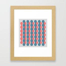 Midcentury Pattern 05 Framed Art Print