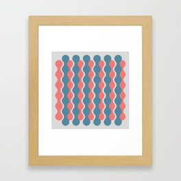 Midcentury Pattern 05 Framed Art Print