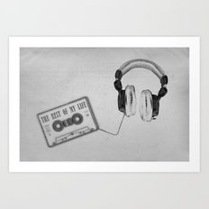 Music, please! Art Print