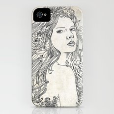 Elven Girl Slim Case iPhone (4, 4s)