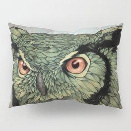 Owl - Red Eyes Pillow Sham