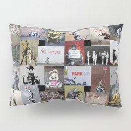 Banksy Pillow Sham