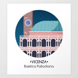 Vicenza - Basilica Palladiana Art Print