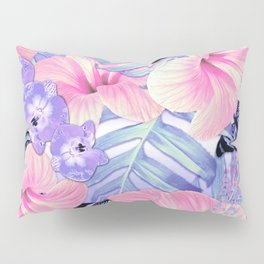 Tropical Spring Lavender Pillow Sham