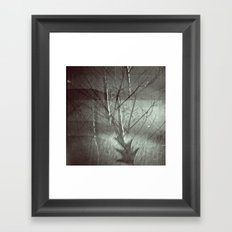 Faded Night Framed Art Print