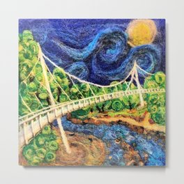 2016 Liberty Bridge Metal Print
