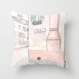 Venice Villa on Canal Muneghete  Throw Pillow