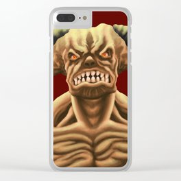 Cyberdemon from DOOM Clear iPhone Case