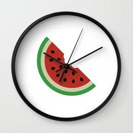 WaterMellon Slice Wall Clock