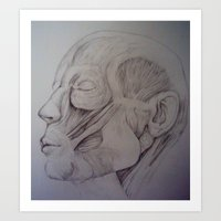 Anatomy -Inspired By Jeno Art Print