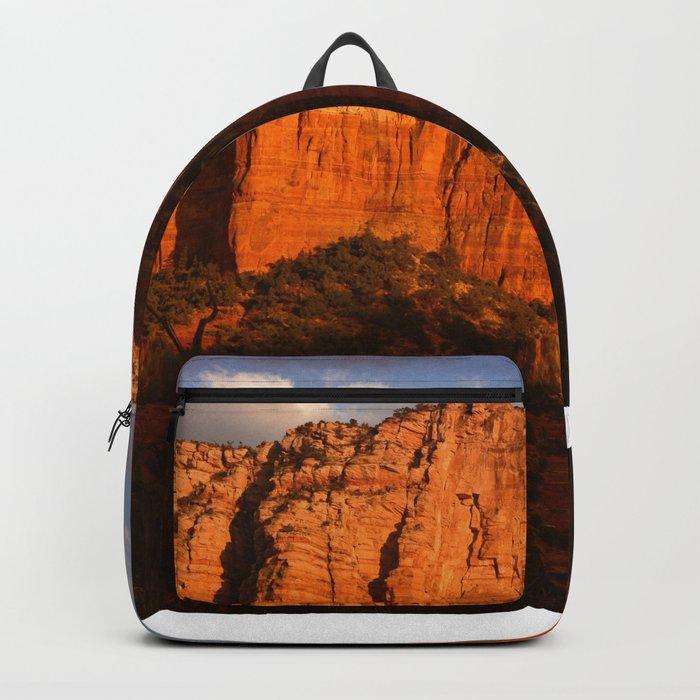COURTHOUSE ROCK - SEDONA ARIZONA Backpack