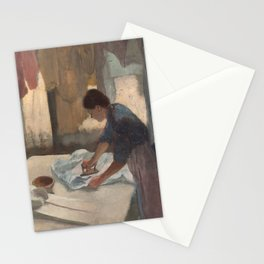 Woman Ironing Stationery Cards