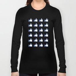 Blue Heroin Long Sleeve T-shirt