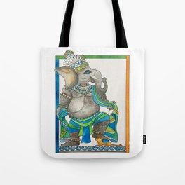 Ganesha dancing Tote Bag