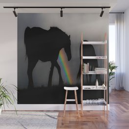 Silhouette of Color Wall Mural