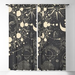Magic patterns Blackout Curtain