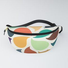 Colorful Water Drops Fanny Pack